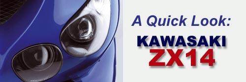 Kawasaki ZX14 superbike