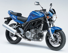 2007 Suzuki SV1000 Musclebike