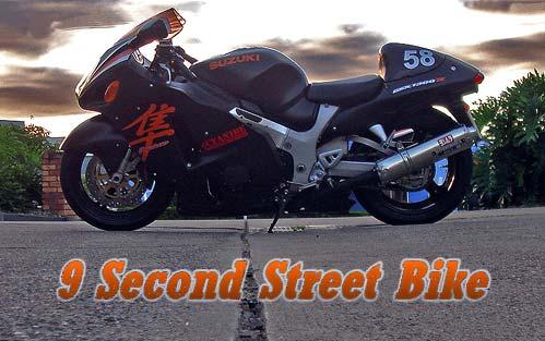 9 second street bike